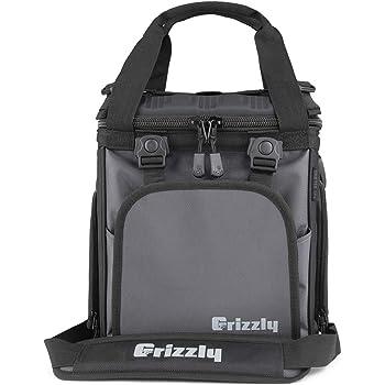 Grizzly Drifter 12+ Flip-top Soft Cooler, Gunmetal/Black, 12 QT