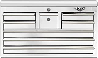 Viper Tool Storage V3308WHC 8-Drawer Top Chest with Whiskey Drawer, 33