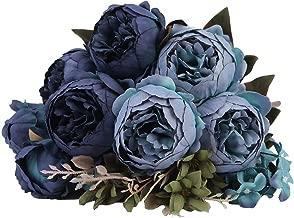 Best dusty blue silk flowers Reviews