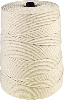 UltraSource 449926 Cotton Butcher Twine, 24-ply, 1,600 ft/Cone