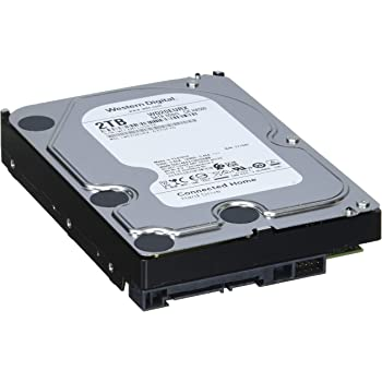 Western Digital HDD 2TB WD AV-GP TV録画 オーディオ/ビデオ 3.5インチ 内蔵HDD WD20EURX 【国内正規代理店品】