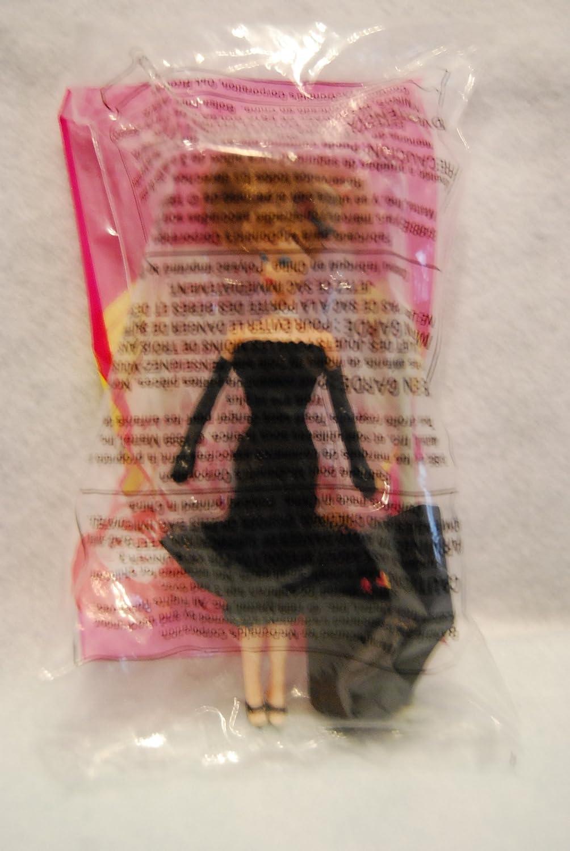 McDonalds Happy Meal 1999 Barbie Solo in the Spotlight Barbie in Black Dress