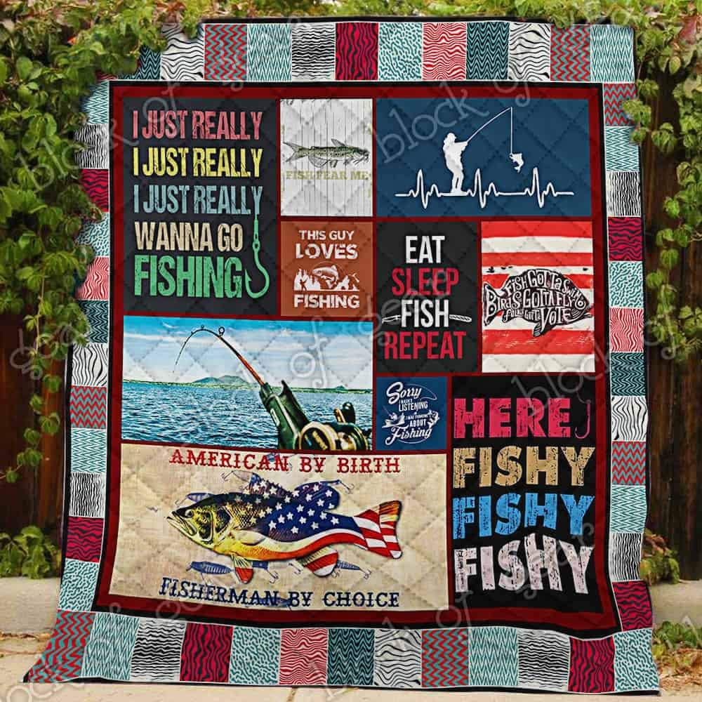 Challenge the lowest price of Japan Quilts Bedding Printed -Fishing American Li Quilt SK1 Max 46% OFF Twin-Soft