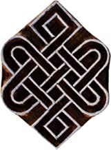Celtic Knot Block Textile Scrapbook Heena Tattoo Clay Pottery Stamps Craft Art