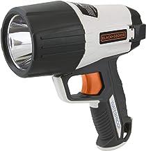BLACK+DECKER WPAK5BE Zaklamp - LED - 5 Watt - 500 Lumen - Waterproof - Grijs