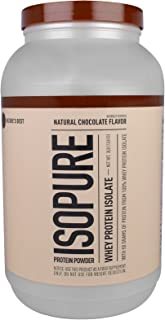 Isopure, Protein Whey Isopure Chocolate, 48 Ounce