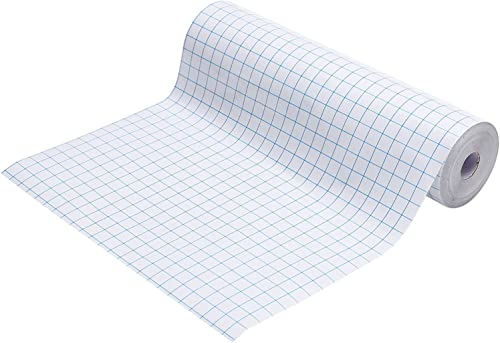 """discount Transfer Tape for popular Vinyl, 12"""" x 50 ft. Roll, Clear Paper for Craft 2021 DIY, Easy 1/2"""" Grid sale"""