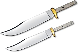 Whole Earth Supply Set of 2 Blades for Knife Making (7 1/2