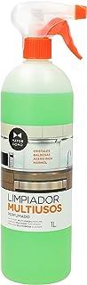 Limpiador Multiusos de Superficies Perfumado Pulverizador para Cristales Azulejos Acero Inoxidable 1 litro Mayordomo