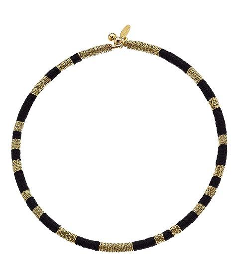 Oscar de la Renta Cord Choker Necklace