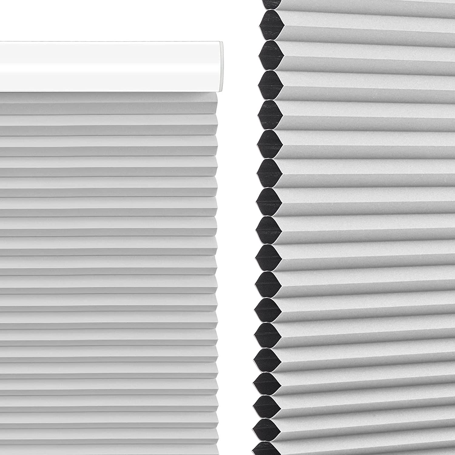 MiLin Blinds for Windows Cordless 4 years warranty Blin lowest price Cellular Blackout Shades