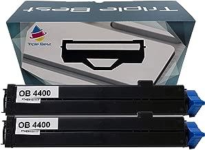 Triple Best Compatible Toner Cartridge Replacement for Okidata 43502301 Type 9 B4400 B4600 B4600 B4600n B4400n B4600n PS B4550 B4550n (2 Pack)
