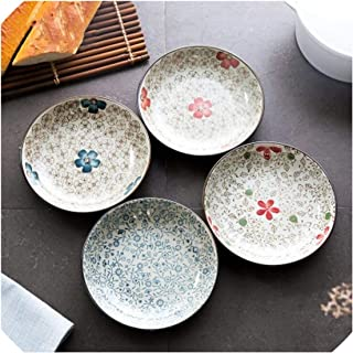 Japanese Fruits Dish Dish A Gentle Wind Series Small A Plate Originality Ceramics Tableware Dish Plate Service Plate Dropship,Cloisonne