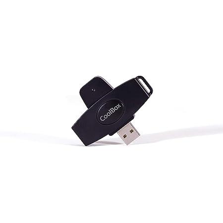 CoolBox Lector Tipo pendrive USB2.0 de DNI electrónico ...
