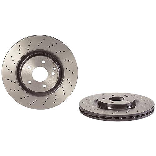 Brembo 09A44821 Discos de Freno con Recubrimiento UV Set de 2