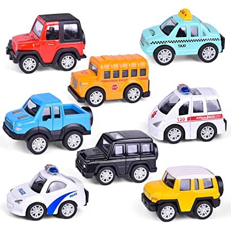 2pcs Baby Toys Cute Plastic Pull Back Cars Mini Car Model Funny Toys for Boys BR