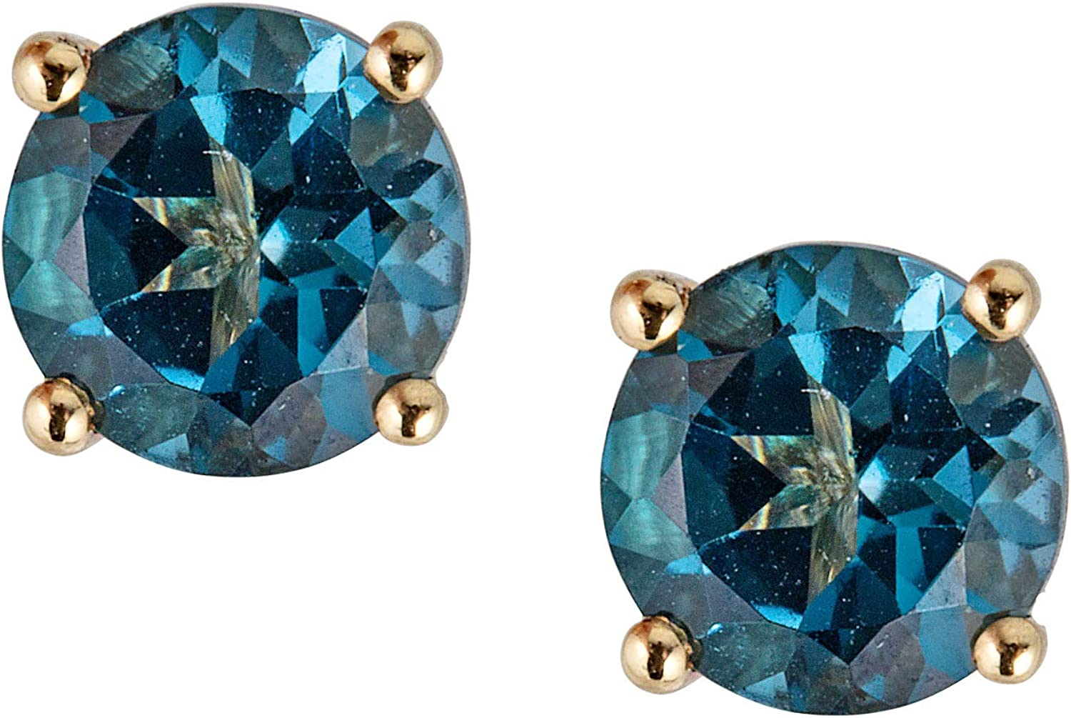 Very popular Ranking TOP16 Gin Grace 10K Yellow Gold Natural with Lo Stud Earring