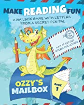 Ozzy's Mailbox: Motivate reading practice with Ozzy's learn to read games for kids 5-7! Interactive letters from a dragon ...