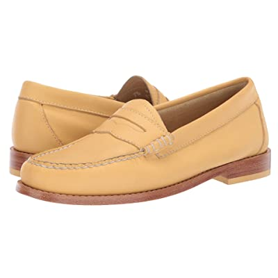 G.H. Bass & Co. Whitney Weejuns (Yellow Leather) Women