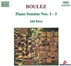 Boulez: Piano Sonatas Nos. 1-3