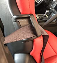 2014-2019 C7 Corvette Seat Belt Stay Clips Accessory Black - 2 Piece Package Fits All Stingray, Including Z06, Grand Sport and ZR1