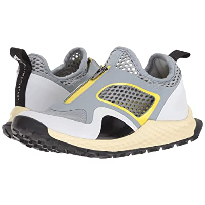 adidas by Stella McCartney Vigor Bounce (Light Grey/Footwear White/Bright Yellow) Women
