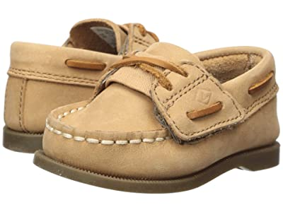 Sperry Kids A/O Crib (Infant/Toddler) (Sahara Leather) Boy