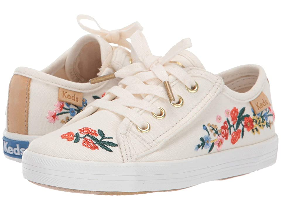 Keds x Rifle Paper Co. Kids Rifle Paper Kickstart (Toddler) (Vines) Girls Shoes