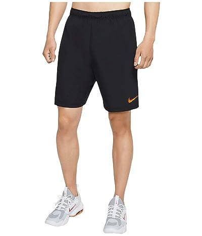 Nike Flex Shorts Linear Vision 2.0 (Black/Black/Hyper Crimson) Men