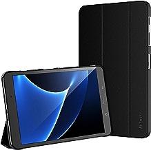 """JETech Custodia per Samsung Galaxy Tab A 10,1"""" (SM-T580 / T585), Cover con Funzione di Supporto, Auto Svegliati/Sonno, Nero"""