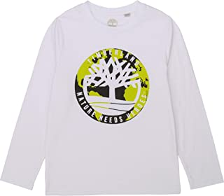 Timberland Camiseta Tejido algodón Eco NIÑO Blanco 12AÑOS