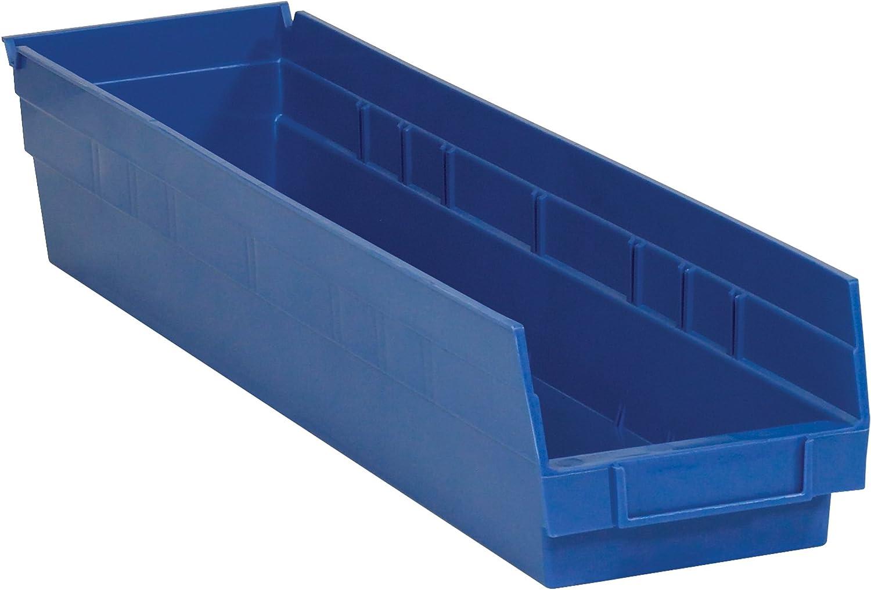 Poly Bag Guy Plastic Shelf Bin Boxes Rapid rise 23 4 8