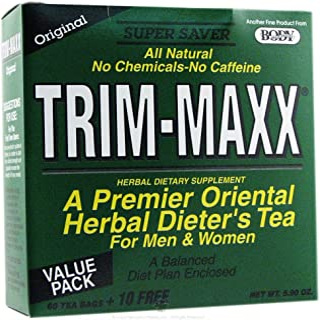 Body Breakthrough - Trim-Maxx Herbal Dieter's Tea for Men and Women Original - 70 Tea Bags