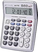 $29 » Docooler Calculator Musical Desktop Calculator 12-Digits LCD Display with 3.5mm Audio Jack Adjustable Volume Cable Electro...