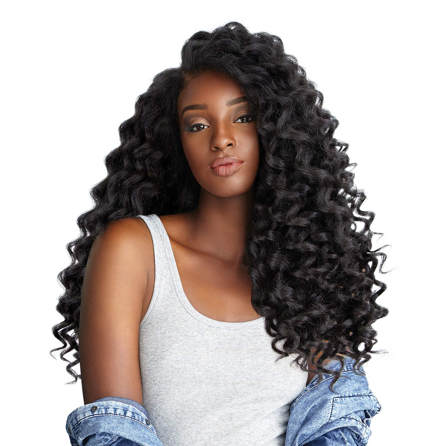 Sensationnel Curls OFFicial mail order Price reduction Kinks Co Empress Wig lace ONE 1B WILD