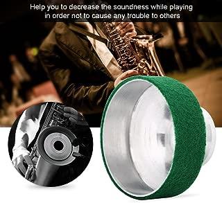 Aluminum Alloy Soprano Saxophone Mute Sax Sound Metal Dampener Silencer Accessory