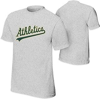 オークランド・アスレチックス Oakland Athletics ティーンエイジャー 令和 新しい年号 可愛い Tees 半袖シャツトップ