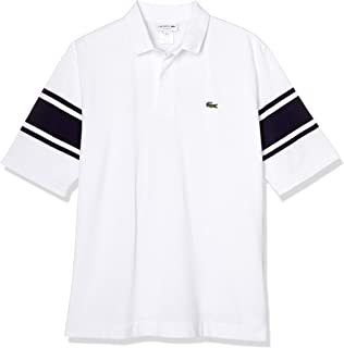 [ラコステ] ポロシャツ [公式] ボディーサイズボーダーBIGポロ メンズ
