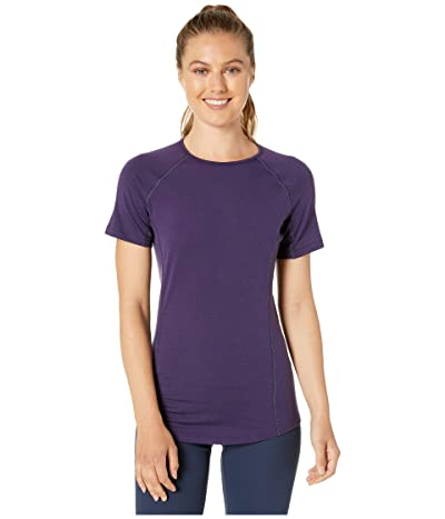 Icebreaker 150 Zone Merino Short Sleeve Crewe (Lotus) Women