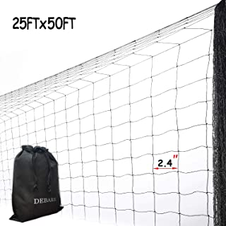 DEBARK 25' x 50' Net Netting for Bird Poultry Aviary Game Pens Economical Bird Netting-Protect Blueberry,Plants and Vegetables from Ows New 2.4