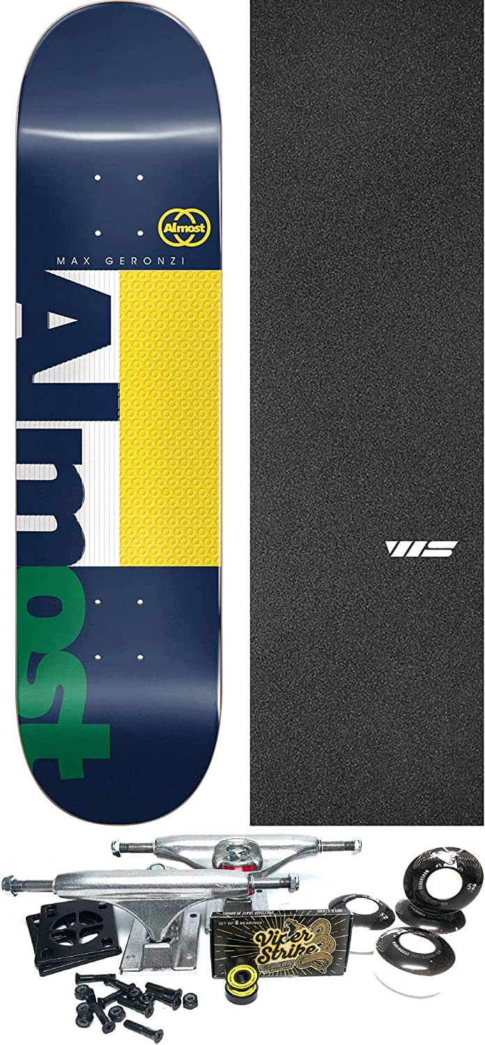 Almost Skateboards Manufacturer direct delivery Max Geronzi Ivy Challenge the lowest price Impact Skateboard League Deck