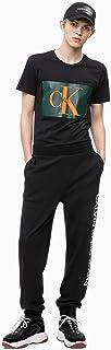 Calvin Klein Jeans T-Shirt For Men - Black, Size Large (J307843901)