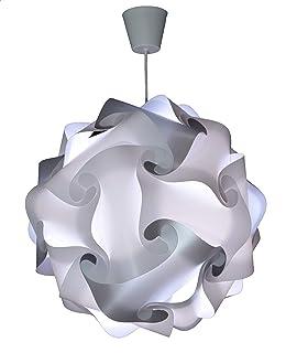 CREATIV LAMP - Suspension Luminaire - Lustre Chambre Prêt à Être Branché | Abat-Jour à Suspendre au Plafond| | Pour Décora...