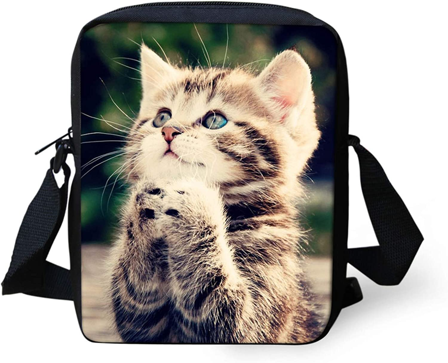 Howilath List price Funny Max 66% OFF Animal Printed Small Travel Outdoor Bag Messenger