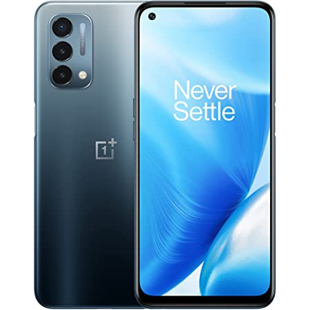 """OnePlus Nord N200   5G Unlocked Android Smartphone U.S Version   6.49"""" Full HD+LCD Screen   90Hz Smooth Display   Large 5000mAh Battery   Fast Charging   64GB Storage   Triple Camera,Blue Quantum"""