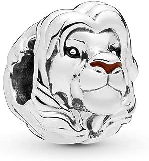 Disney, The Lion King Simba 925 Sterling Silver Charm - 798049ENMX