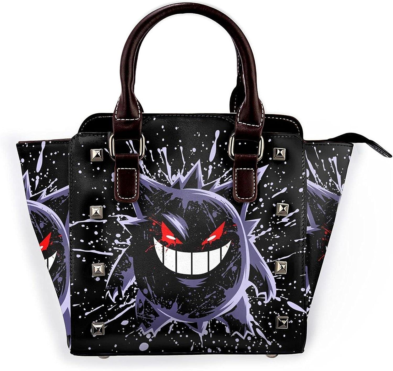 shop Gengar Womens Leather Rivet Las Vegas Mall Shoulder Bag Satchel Handbags C Tote