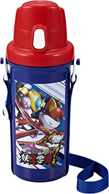 OSK 水筒・マグボトル 妖怪学園Y 直飲み水筒 日本製 SC-600B ブルー