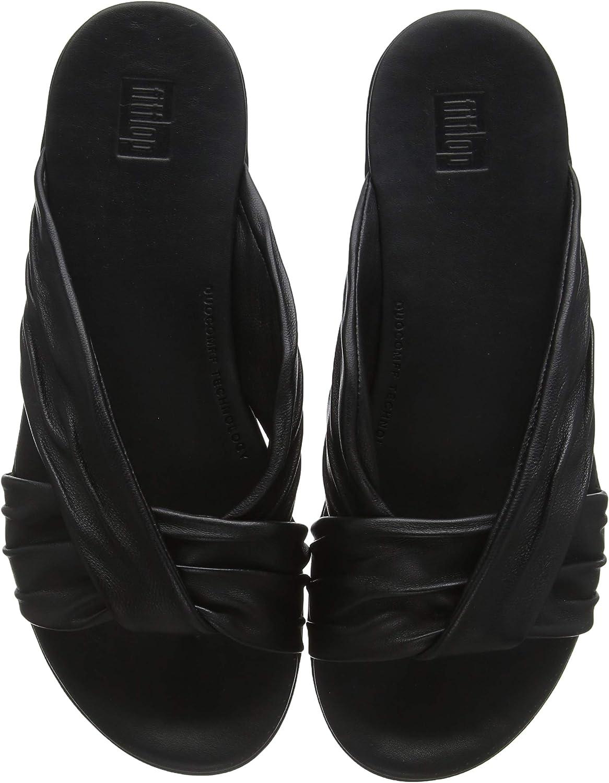 Fittflop (TM (TM (TM kvinnor Twine (TM) Läder Toe -Post Slides  fritid