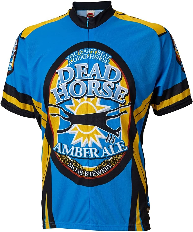 World Jerseys Men's Moab Brewery Dead Horse Cycling Jersey XXLarge Multicolor